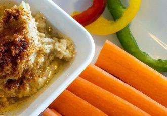 Hummus mit Rohkost